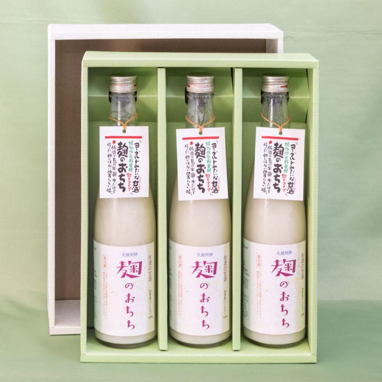 佐渡の甘酒 麹のおちち 飲むタイプ3本 (税込・送料込)